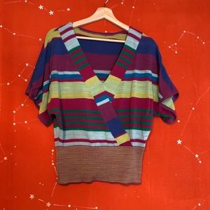 Colorful Prana Sample Sweater: One of a Kind!